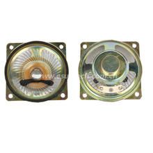 Loudspeaker YD66-5-8N12.5M-R 63*63mm 18mm magnet Square Mylar Audio Speaker Waterproof Speaker Unit-ESUTECH