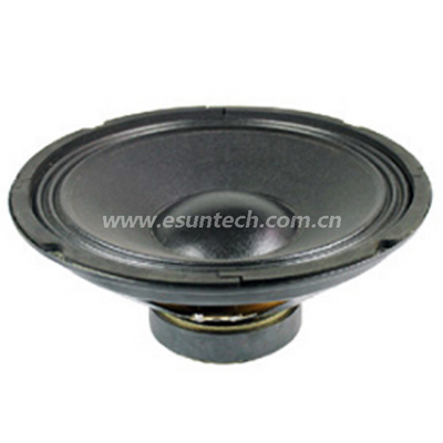 Loudspeaker YD300-01-8F126U 12 Inch Bass Speaker Drivers, China Speaker Manufacturer-ESUTECH