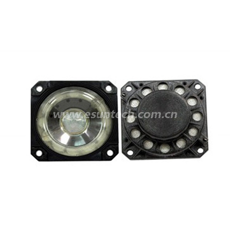 Loudspeaker YD65-32-8N18.5PEI-R 65*65mm Square ROHS Plastic Sheel Micro Mylar Audio Speaker Waterproof Speaker Drivers-ESUTECH