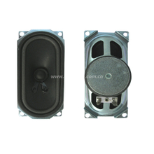 Loudspeaker YDP613-8A-8F50U-R 57mm*117mm 613 TV Speaker Drivers, Tv Speaker Parts -ESUTECH