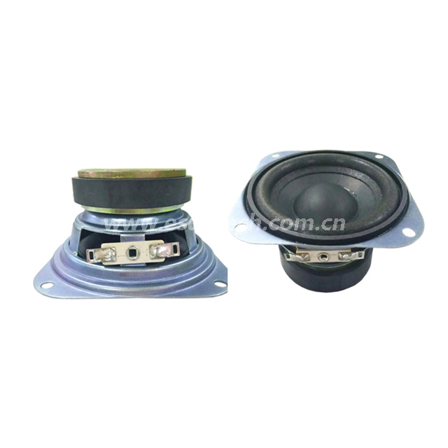 Loudspeaker 88mm YD88-02-4F60P-R Min Full Range Woofer Speaker Drivers-ESUNTECH