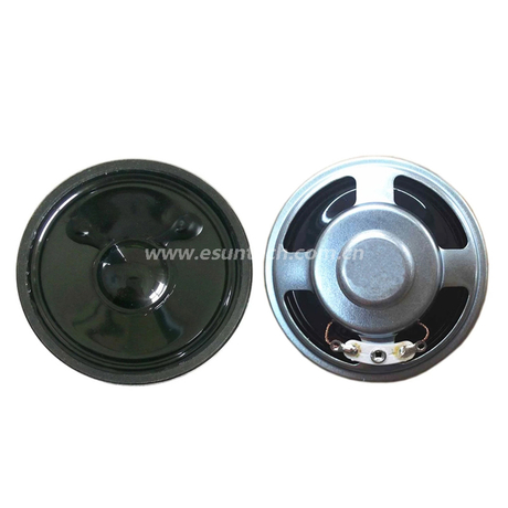 Mylar speaker 57mm YD57-39-8N12.5M-R 18mm shielding 8 ohm Waterproof Speaker Drivers-ESUNTECH